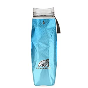Polar Bottle Ergo Hot/Cold Insulated Water Bottle (22 oz) - Blue Halftone