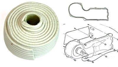 Firewall and Heater Box White Rope Caulk Sealant ()
