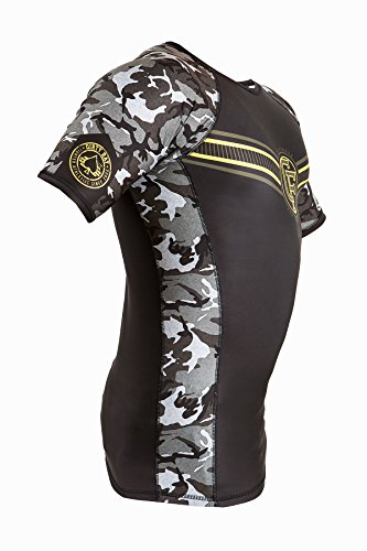 Dirty Ray Cross Training maglietta rashguard maniche corte uomo RG7