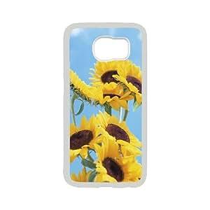 Creative Phone Case Sunflower For Samsung Galaxy S6 F568677