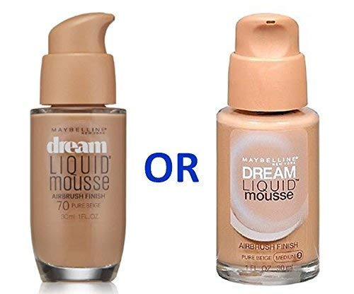 Maybelline Dream Liquid Mousse Foundation– PURE BEIGE (MEDIUM 2) / PURE BEIGE 70