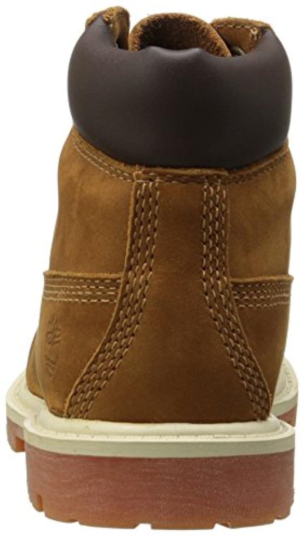 "Timberland Unisex-Child Premium 6"" Boots, Brown, 37 EU"