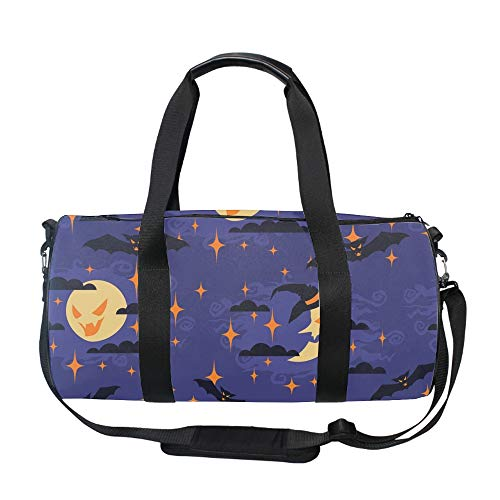 Good Night Halloween Weekender Bag Travel Duffel Bag for Weekend Overnight Trip ()