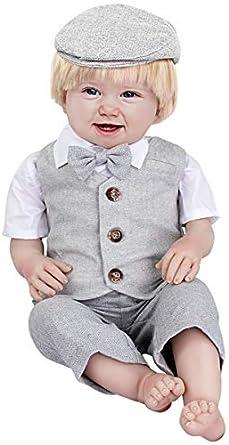 Dimensioni 1-4 Anni mintgreen 4 Pezzi Bambino Ragazzo Outfits Signore Completo da Uomo Camicia Bianca con Cravatta a Farfalla Panciotto Pantaloni Cappello Impostato