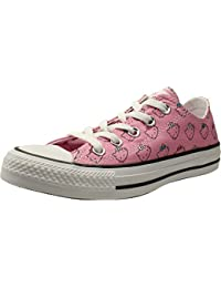 22fed0929d7 Chuck Taylor All Star Hello Kitty Ox Prism Pink White Canvas Adult Trainers