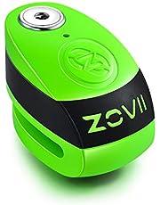 ZOVII (ZD10) Disc Lock with Alarm (Green)