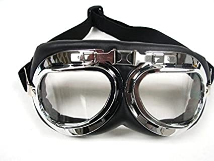 bc1cecd24d Amazon.com  Oumers Vintage Motorcycle Goggles