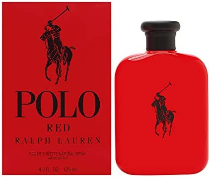 Polo Red by Ralph Lauren for Men 4.2 oz Eau de Toilette Spray