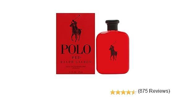 Ralph Lauren Polo Red Eau de Toilette Vaporizador 125 ml: Amazon.es