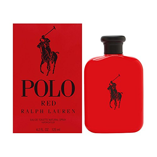 Polo Red by Ralph Lauren for Men 4.2 oz Eau de Toilette Spray (Set Cologne Polo Sport)