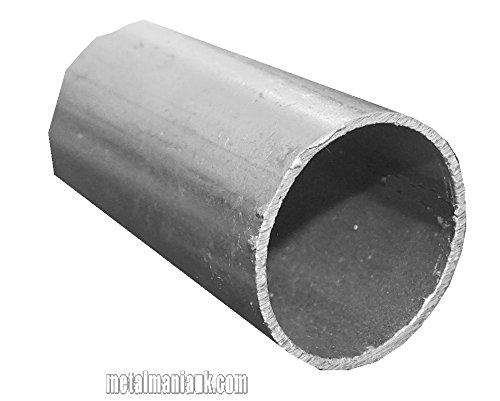 Steel ERW tube 40mm O/D x 2mm x 250mm