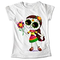 Blusa Colores Playera Tradición Mexicana Calaveras Dia De Muertos Coco #268