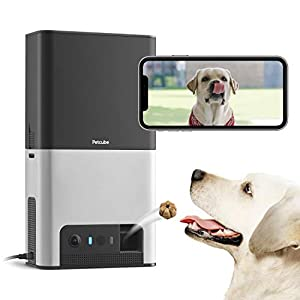 [New 2020] Petcube Bites 2 Wi-Fi Pet Camera with Treat Dispenser & Alexa Built-in, for Dogs and Cats. 1080p HD Video…