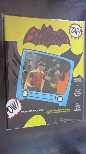 Batmania Book By James Van Hise