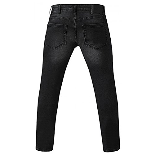 Vaquero tapered Dark para Grey hombre Benson D555 6Hq1xWwadH
