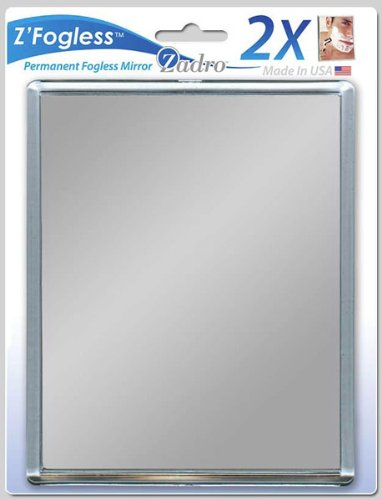 Zadro Fogless Mirror with Suction Cups (ZM01)