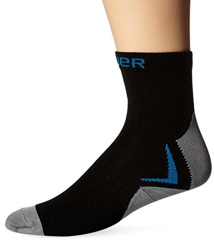 Performance Hockey Skate (Bauer NG Core Skate Low Performance Socks, Black,)