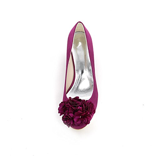 L@YC Women'S High Heels Spring autumn Comfortable Synthetic Wedding Shoes & Evening Dress Fine Slope Heels White Cr5zb