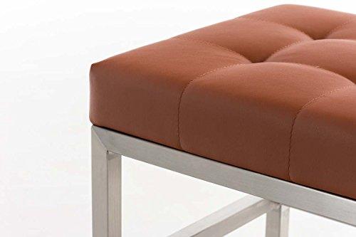 Clp sgabello poggiapiedi design moderno st. pauli pouf imbottito