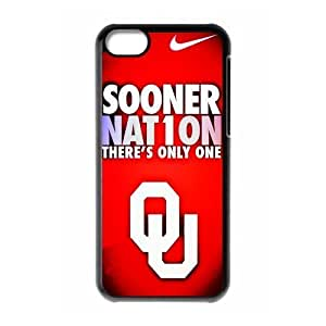 DIY Dream 11 Sports NCAA Oklahoma Sooners Print Black Case With Hard Shell For SamSung Galaxy S4 Case Cover -Just DO It