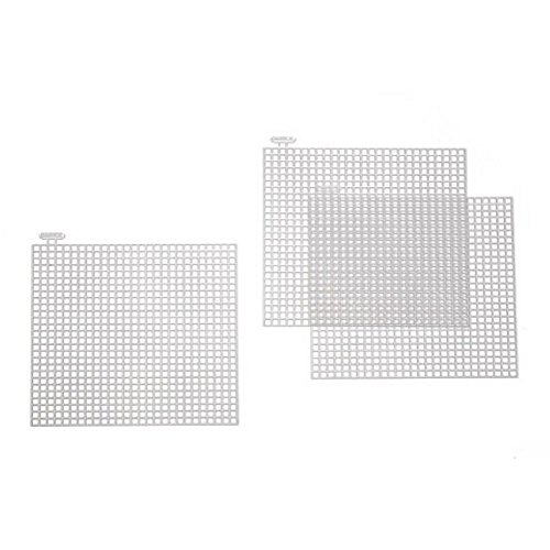 Square Shaped Plastic Canvas 4in Pieces