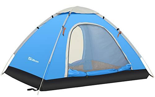 Ubon 2-3 Person Pop up Tent 3 Seconds Instant Tent