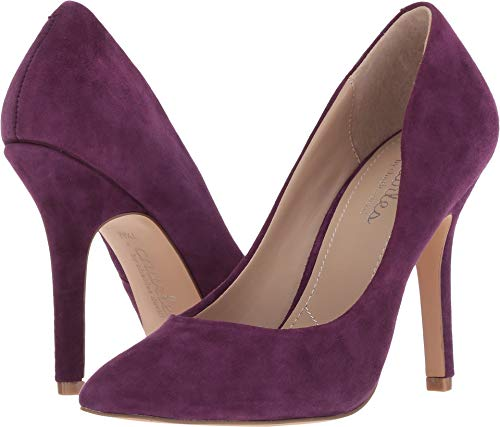 Charles by Charles David Women's Maxx Regal Purple Suede 5 M (Smooth Point Toe Pump)