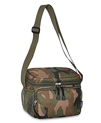 "Insulated and Reusable Cooler/lunch Bag Tote 6"" X 8.5"" X 7.5"" (Camo, One Size)"