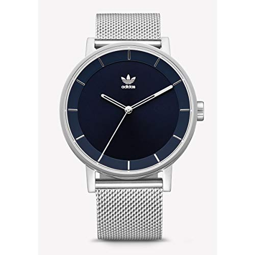Adidas Mens Analogue Quartz Watch with Stainless Steel Strap Z04-2928-00 ()