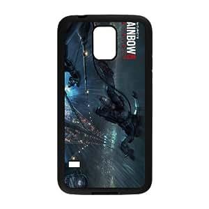 Tom Clancy's Rainbow Si Patriots Samsung Galaxy S5 Cell Phone Case Black yyfD-291799