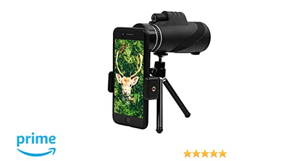 Monocular telescope gemwon high powered bak prism fmc lens