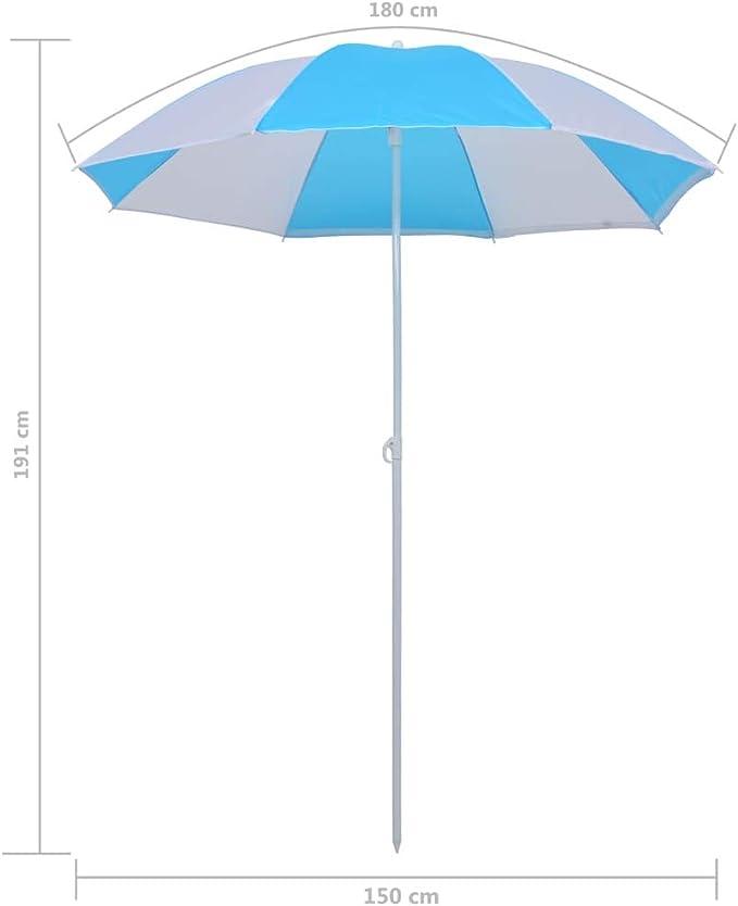 Springos Parasol Market Umbrella Garden Umbrella Beach Umbrella Parasol XXL