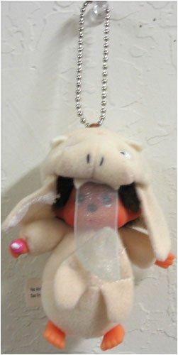Monchichi Costume (Monchhichi World Costume Singpore Keychain Plush Doll)