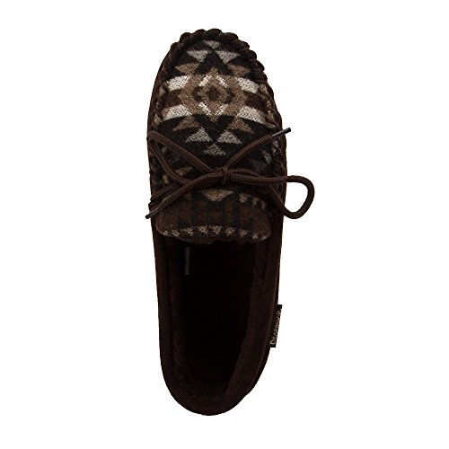Bearpaw Mens Moc Ii Moccasin Chocolate Aztec