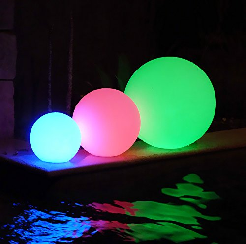 12 Quot Ultra Fun Waterproof Floating Rgb Globe Light Led