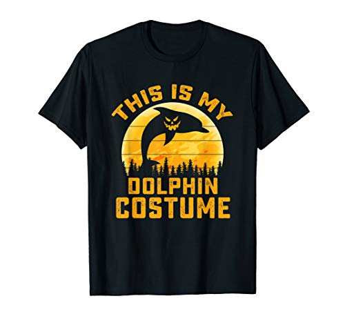 This Is My Dolphin Costume Halloween Gifts Men Women Kids T-Shirt