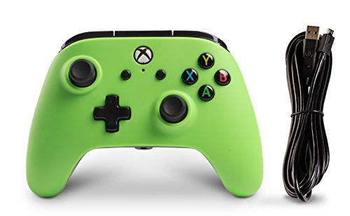 PowerA Enhanced Wired Controller for Xbox One - Green 8