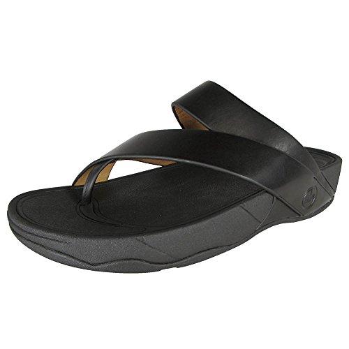 FitFlop Sling Men's Criss Cross Strap Slide Sandals Black Size 13