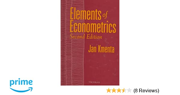 Elements Of Econometrics Kmenta Pdf