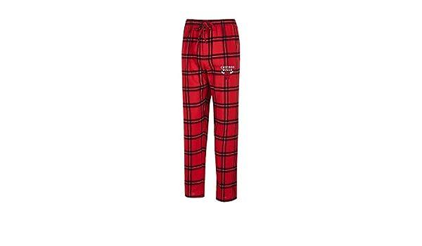 Concepts Sport Chicago Bulls Mens Pajama Pants Plaid Pajama Bottoms