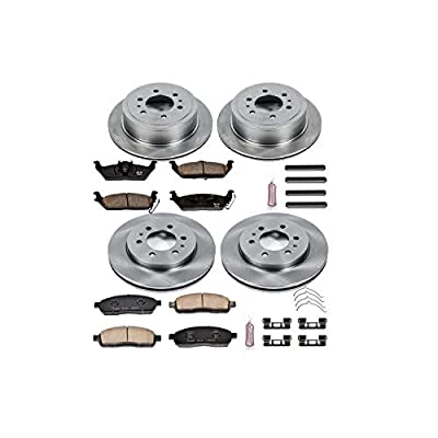 Autospecialty (KOE5335) Daily Driver OE Brake Kit, Front and Rear: Automotive