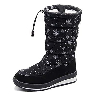 Amazon.com | T-JULY Russian Winter Boots Women's Winter
