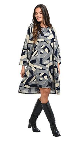 Femme Robe blue Hiver Collection Bleu Bella Automne wqSEHnx5g