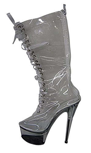 nbsp;– Shoes Size Clear High nbsp;43 Heel Platform Clear 36 UwHR0Tqx