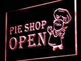 ADVPRO Pie Shop Open Display LED Neon Sign Red 16'' x 12'' st4s43-i880-r