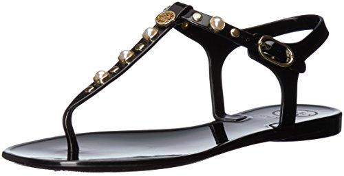 Black Sandal Gwjanaye Guess Women's Flat x6gqIwzUwv