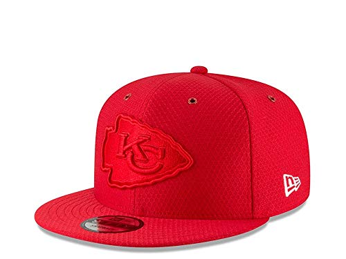 A NEW ERA Sideline Cap 2018 de Kansas City ciefs – Color Rush – Rojo