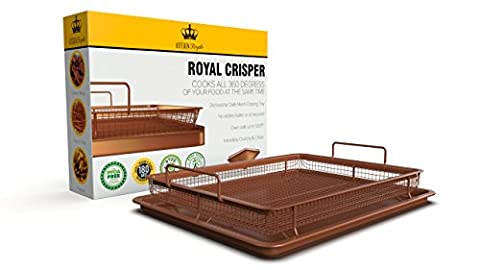 Royal Copper Crisper Tray Air Fryer by Kitchen Royale (Crisper Trays)