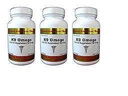 Aloha Medicinals Fish Oil for Dogs: K9 Omega - 60 Softgels 1000 mg 3 Bottles of 60 Soft Gels