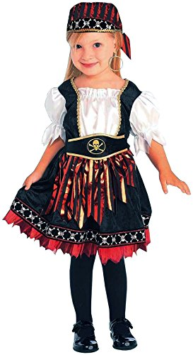 Forum Novelties Lil Pirate Cutie Child Costume, Small ()